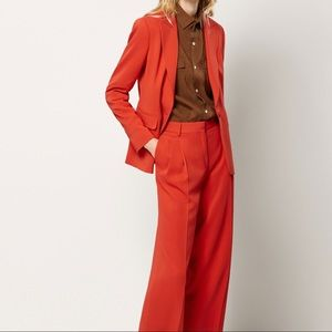 🌺NWT Massimo Dutti cropped fit suit trousers🌺
